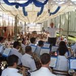 Concierto de la Banda de Musica Maestro Tejera el sábado. Foto: La Plaza.