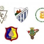 Escudos de los equipos de fútbol de la Sierra Norte