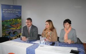 Inauguración Consejera Encuentro Voluntariado Ambiental Sierra Norte de Sevilla