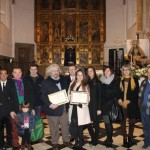 Los premiados, Andrés Gotor de Astorza y Flora Jordán Ortiz, junto algunos miembros de la asociación ALAS. Foto: Sonia Granja Guerrero.