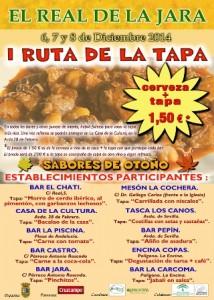 CARTEL RUTA DE LA TAPA