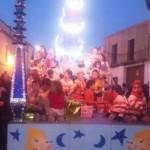 Cabalgata de Constantina. Foto: Nuria Rodríguez.