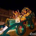 Carroza de la Cabalgata de los Reyes Magos de Constantina 2014. Foto: Prensa Constantina.