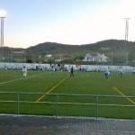 Partido que enfrentó al Cazalla contra el Priorato en el Estadio Municipal El Moro. Foto: Juan Sánchez.