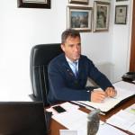 Cecilio Fuentes en su despacho (foto de archivo).