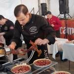 """Francisco Rivero, ganador  del premio """"Al mejor cortador de jamón"""". Foto: Carlos  J. Trejo."""