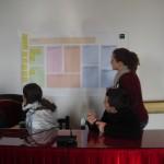 Jóvenes de Constantina en una de las sesiones de trabajo,