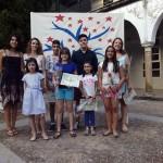 Ganadores del III Premio Artístico IES El Carmen. Foto: La Plaza.