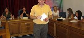 Leopoldo Espínola, ganador del Primer Premio en el LIII Certamen Literario de Alhama
