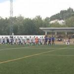 El Cazalla en su partido ante el Salteras el pasado domingo.