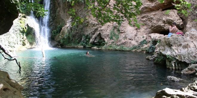 Las cascadas del Huéznar en San Nicolás tendrán un plan de seguridad