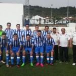 El equipo de El Pedroso en el partido de la tercera jornada.