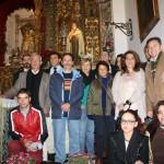 Algunos de los participantes y organizadores del Homenaje a San Juan de la Cruz en la ermita del Monte. Foto: La Plaza Información.