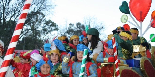 Galería de imágenes: La Sierra Norte de Sevilla acoge a los Reyes Magos de Oriente