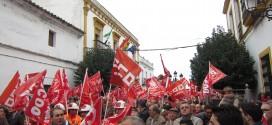 El Real de la Jara continúa con las movilizaciones por el  cierre de la mina Aguablanca