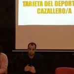 Cazala-Tarjeta Deportista