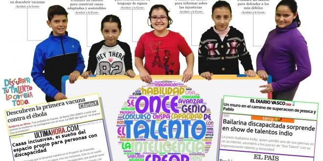 El Colegio San José de Calasanz de la Puebla de los Infantes gana el Concurso Escolar de la ONCE