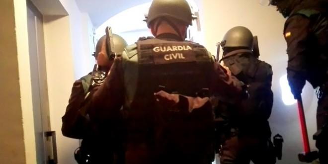 Desarticulan una red de tráfico de drogas que pretendía instalarse en la Sierra Norte de Sevilla