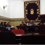 Pleno celebrado el 30 de noviembre. Foto: vídeo de Cazalla Activa.