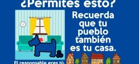 El Ayuntamiento de Constantina busca concienciar sobre la recogida de excrementos de los animales