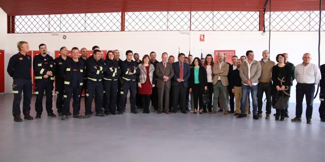 Inaugurado un nuevo parque de bomberos en Cazalla de la Sierra