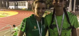 Las atletas de la Sierra triunfan en el Campeonato de Andalucía