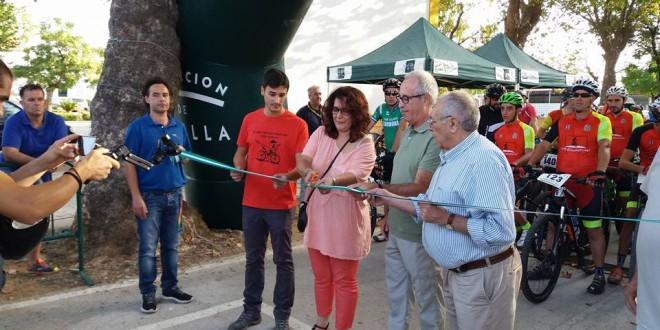 Alanís inauguró el Centro BTT 'Georutas Villa de Alanís' con más de 400 kms homologados