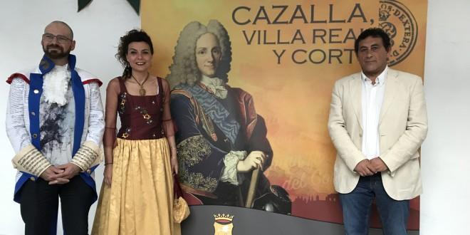 Cazalla volverá a ser la Villa Real de Felipe V el último fin de semana de junio