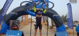 El cazallero Santiago Beltrán, tercero en su categoría en la Titan Desert 2018