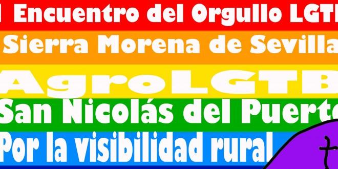 San Nicolás del Puerto apoya al colectivo LGTB rural celebrando el día del orgullo