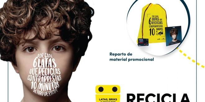 La Mancomunidad y Ecoembes impulsan una campaña para concienciar sobre el reciclaje