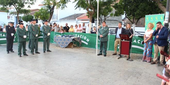 Almadén de la Plata reconoce la labor de la Guardia Civil con la Medalla de la Villa